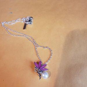 Vantel pearls pixie dust necklace